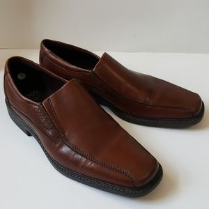 Ecco Brown Windsor Loafer Size 46 New